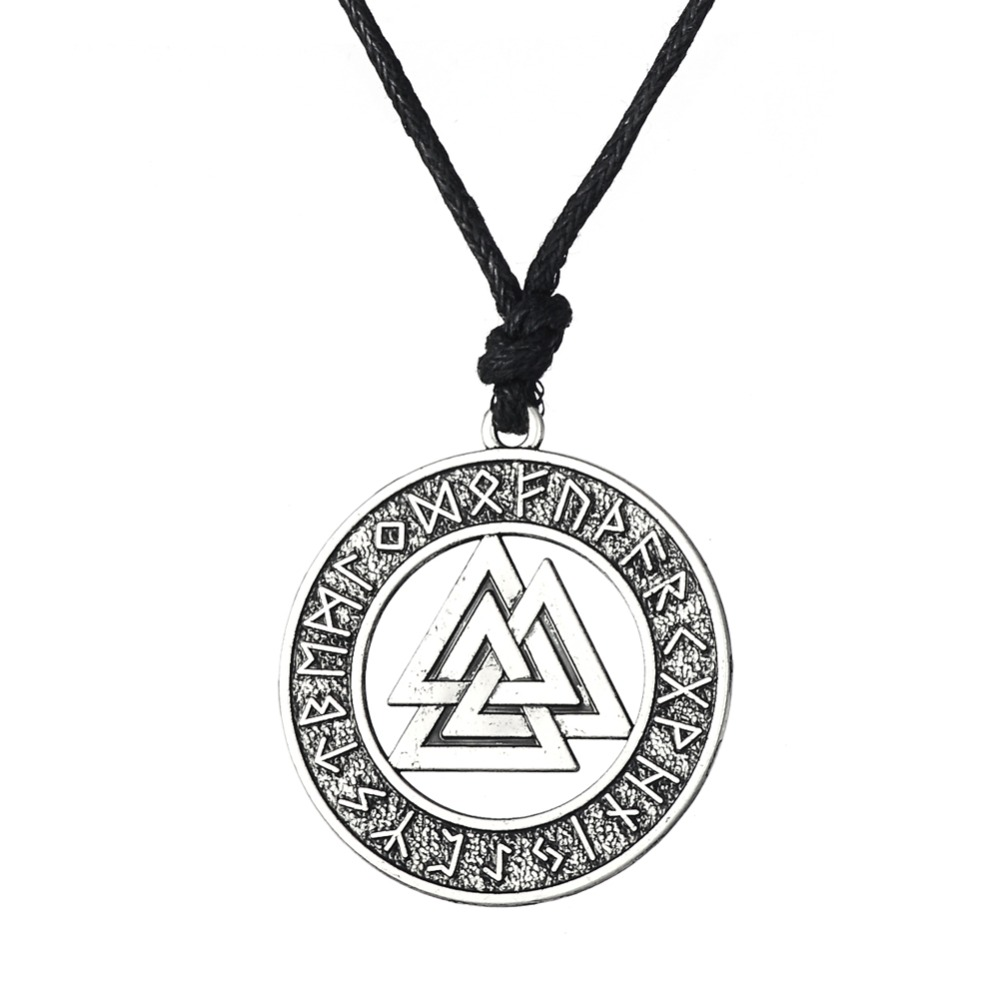 Dawapara Valknut Odin's Symbol of Norse Cross Runes Jewelry Warrior - Fashion Jewelry - Photo 4