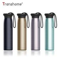 Transhome Нержавеющаясталь бутылка для воды 320 мл герметичным изоляции бутылке для Велоспорт Спорт самостоятельного вождения путешествия
