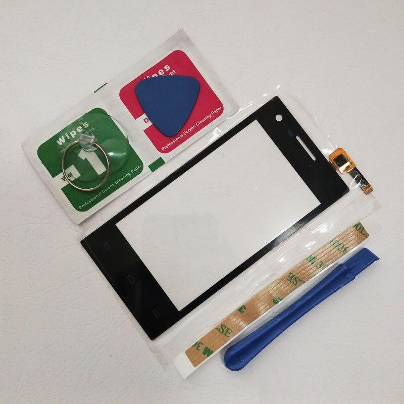 ZUCZUG 4.0 ''À Écran Tactile Digitizer Capteur Pour Philips Xenium S309 Mobile Écran Tactile écran tactile Avant lentille en verre Capteur + Outils