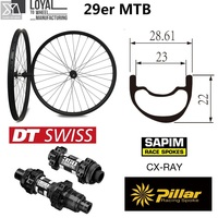 DT Swiss 350 Series Mountain Bike Carbon Wheel Chinese Super Light Weight MTB Rim Tubeless For 29er XC Cross Country
