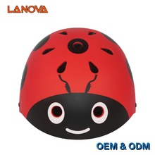 LANOVA Extreme Sports Skating Helmet Bicycle BMX MTB Cycling Climbing Helmet Scooter Roller Inline Skate Skateboard Child Helmet