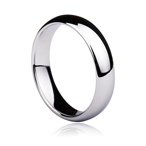 3mm White/ Black/ Gold/ Blue Tungsten Carbide Polished Classic Wedding Ring Band Couples Promise Rings