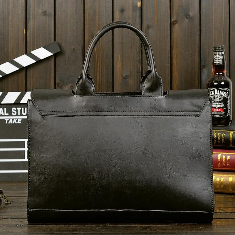 HTB1bbWoatzvK1RkSnfoq6zMwVXaV Retro Men's Briefcase Crazy Horse Leather Laptop Handbag Designer Shoulder Bags Business Messenger laptop Bag men Crossbody bags