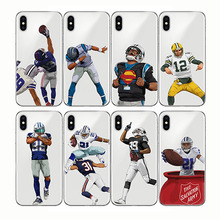 soft silicone phone cases cover American Sport football rugby for iPhone XR XS MAX 6 6S 7 8 plus X 11 pro 5 5S SE