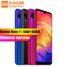 XIAOMI Redmi Note 7 6 ГБ Оперативная память 64 Гб Встроенная память смартфон S660 Octa Core 6,3 «полноэкранный 2340×1080 4000 мА/ч, 48MP + 13MP Камера мобильного телефона
