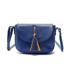 2017 high quality Vintage Tote bags Messenger Portable Bags Handbags women shoulder messenger bag zipper Tassel PU Leather Purse