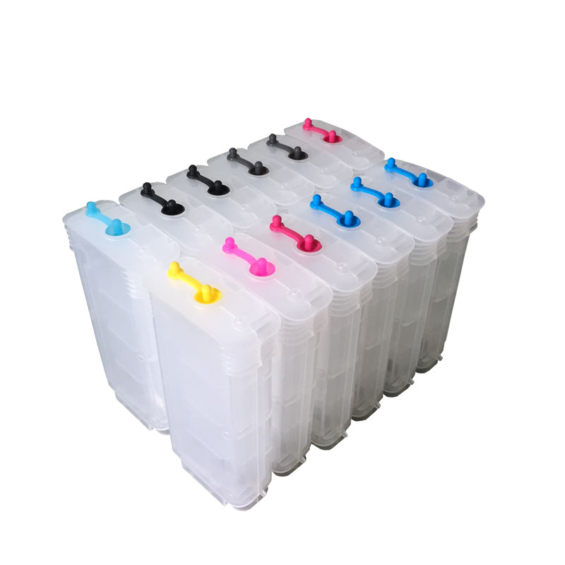 12 pcs130ML HP70 Ink Cartridge For HP 70 Ink Cartridge For HP Designjet Z3200 Printer with ARC chips on high quality high quality 8color 1000ml hp91 printing pigment ink for hp designjet z6100 printer refill ink cartridge