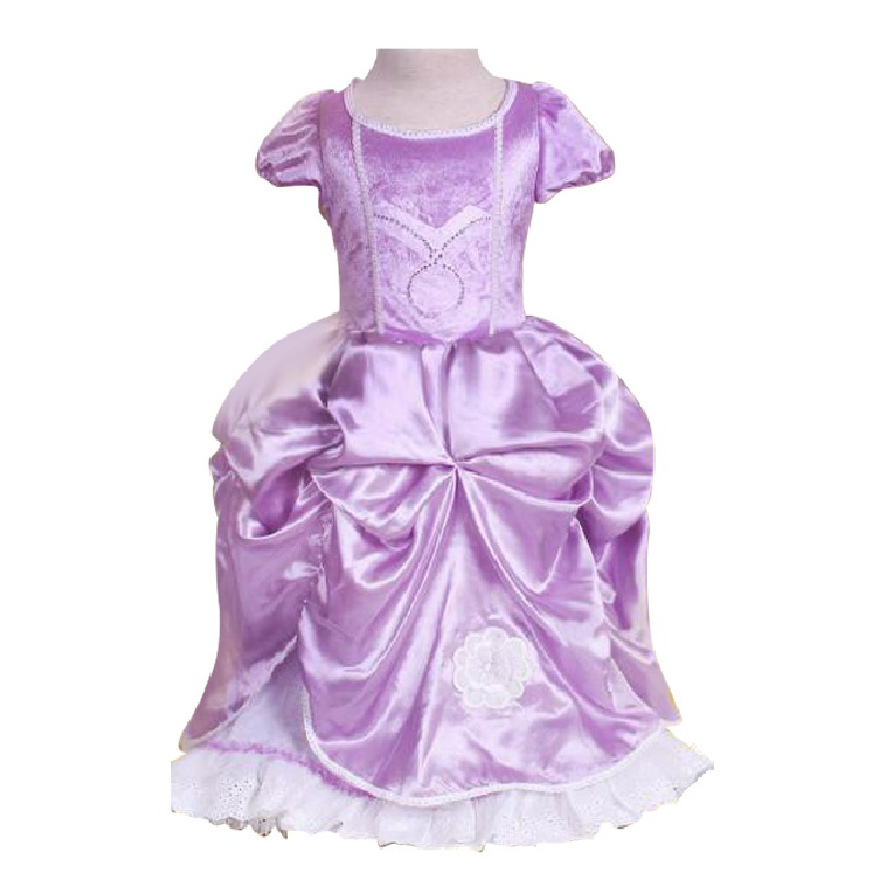 New Year Clothes For Girls baby girl dress sofia princess