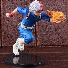 Anime figura de acción de Boku No héroe Academia mi héroe Academia Katsuki Bakugo Izuku Middria Shoto Todorki Collectibe modelo de juguete