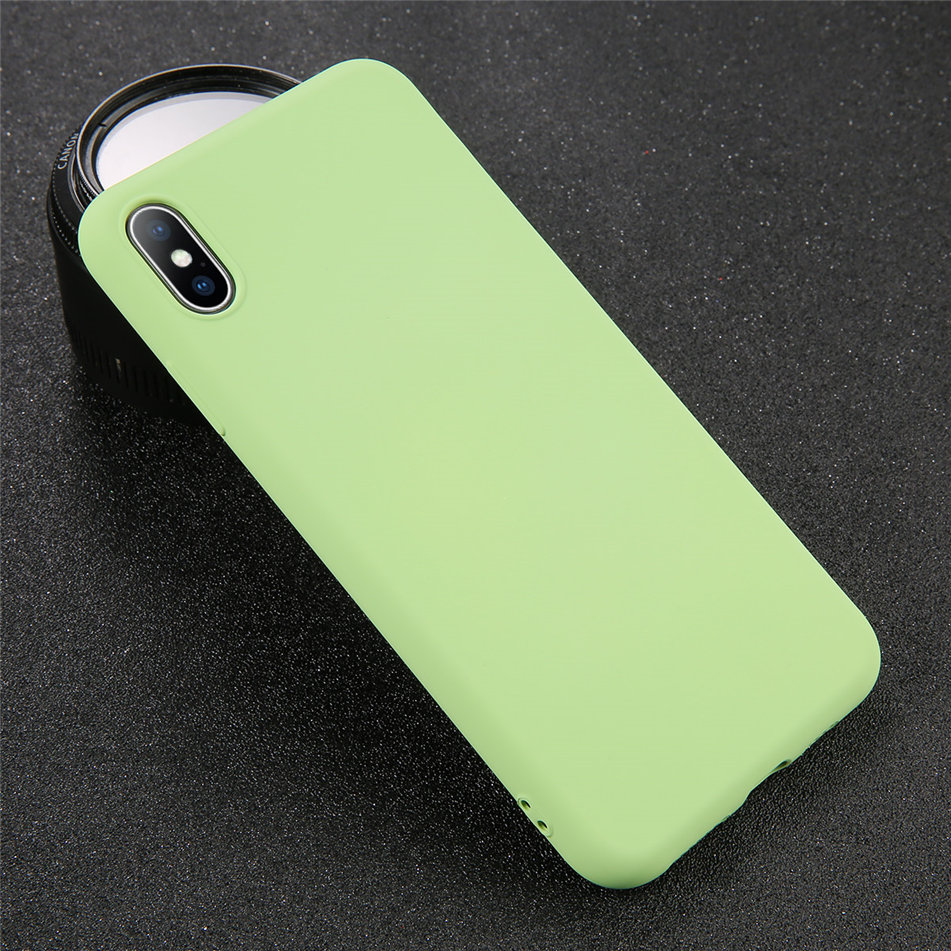 HTB1bbXJXRWD3KVjSZKPq6yp7FXaG - USLION Silicone Solid Color Case for iPhone SE 2020 11 Pro MAX XR X XS Max Candy Phone Cases for iPhone 7 6 6S 8 Plus Soft Cover