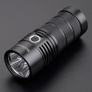 Image 3 - Sofirn SP36 4*XPL2 Powerful 6000LM LED Flashlight USB Rechargeable 18650 Multiple Operation Super Bright Lantern Narsilm V1.2