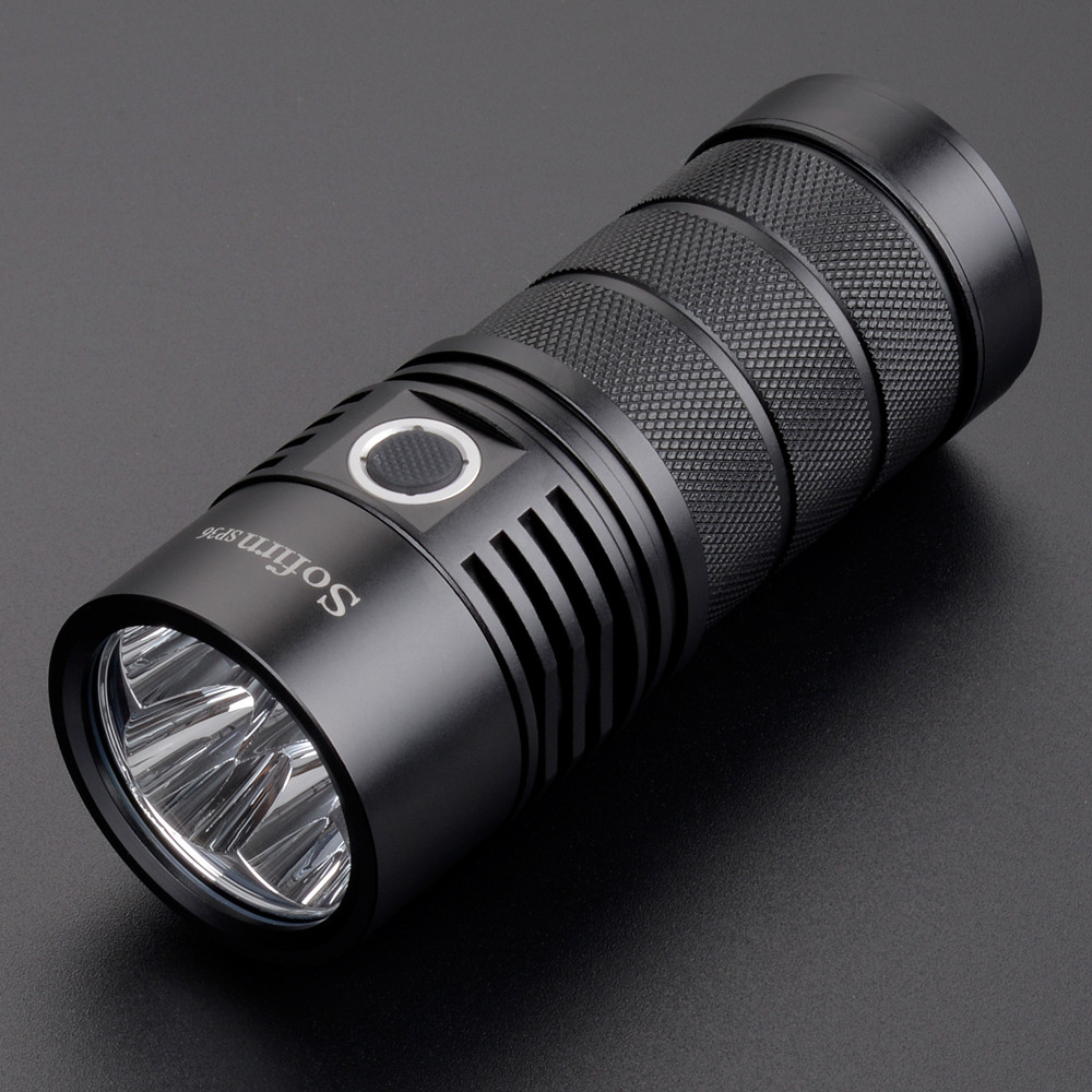 Sofirn SP36 4*XPL2 Powerful 6000LM LED Flashlight USB Rechargeable 18650 Multiple Operation Super Bright Torch Narsilm V1.2