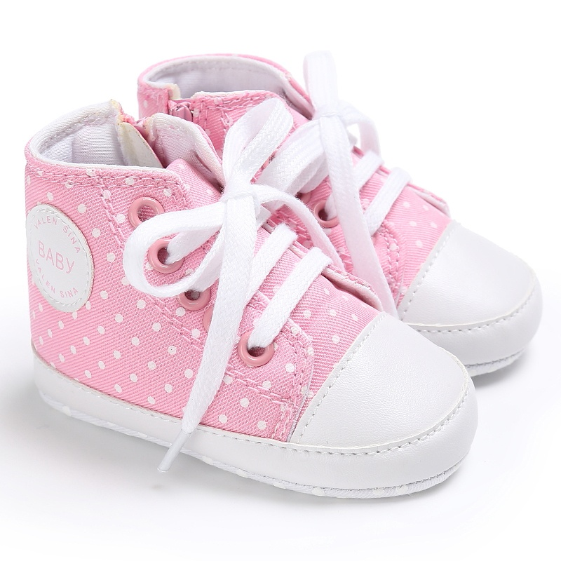Toddler Boys Girls Shoes Canvas Sneakers Non-slip Soft Bottom Baby First Walkers Shoes