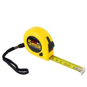 Image 1 - Stalowa miarka 1.5 m 3 m 5 m 7.5 m linijka miernicza linijka stalowa artykuły biurowe lub pomiar budynku 8023