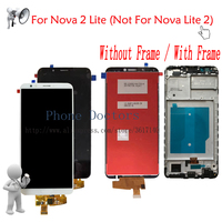 Full LCD Display + Touch Screen Digitizer Assembly With Frame For Huawei Nova 2 Lite LND L22 LDN LX2 ( Not For Nova Lite 2 )