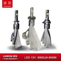 Car Lights LED 6500K 8000Lm ZES Headlight Bulbs Lamp for Auto h7 h1 h11 h4 Headlamp Bulbs Lamps Car Light Accessories Styling