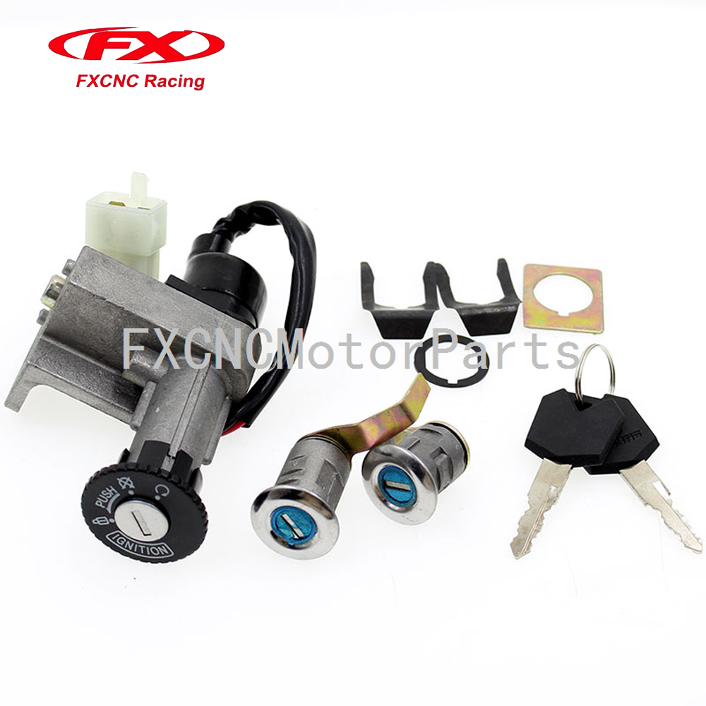 Aliexpress Buy Motorcycle 4 Wires Ignition Switch Seat