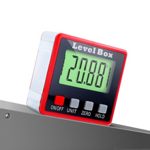 360 Degree Mini Digital Protractor Inclinometer Electronic Level Box Magnetic Base Measuring Tools Level Box Angle Gauge Meter цена 2017