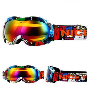Brands Boys Girls Ski Goggles Kids Snowboard Eyewear Double Lens UV400 Anti-fog Skiing Mask Glasses Children Snow Skate Winter - DISCOUNT ITEM  54% OFF Sports & Entertainment