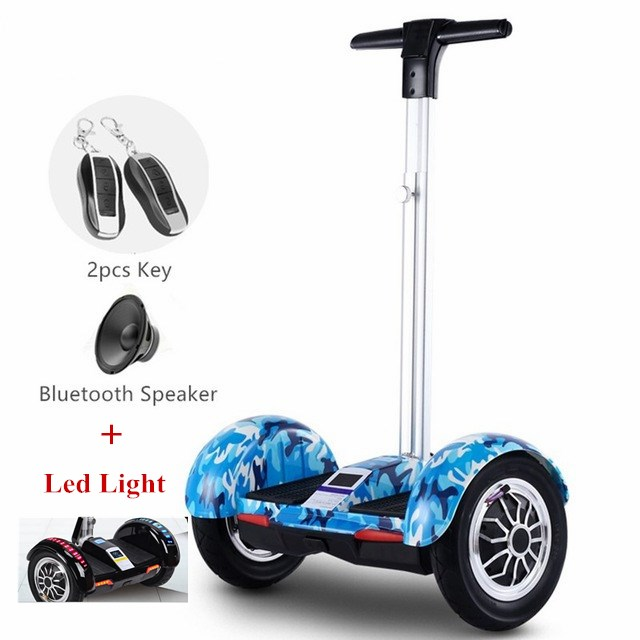 Hoverboard 10 inch 2 Wheels Smart Balance Scooter Hover board Standing Smart wheel Motorized Adult big tire UL2272 Authenticate