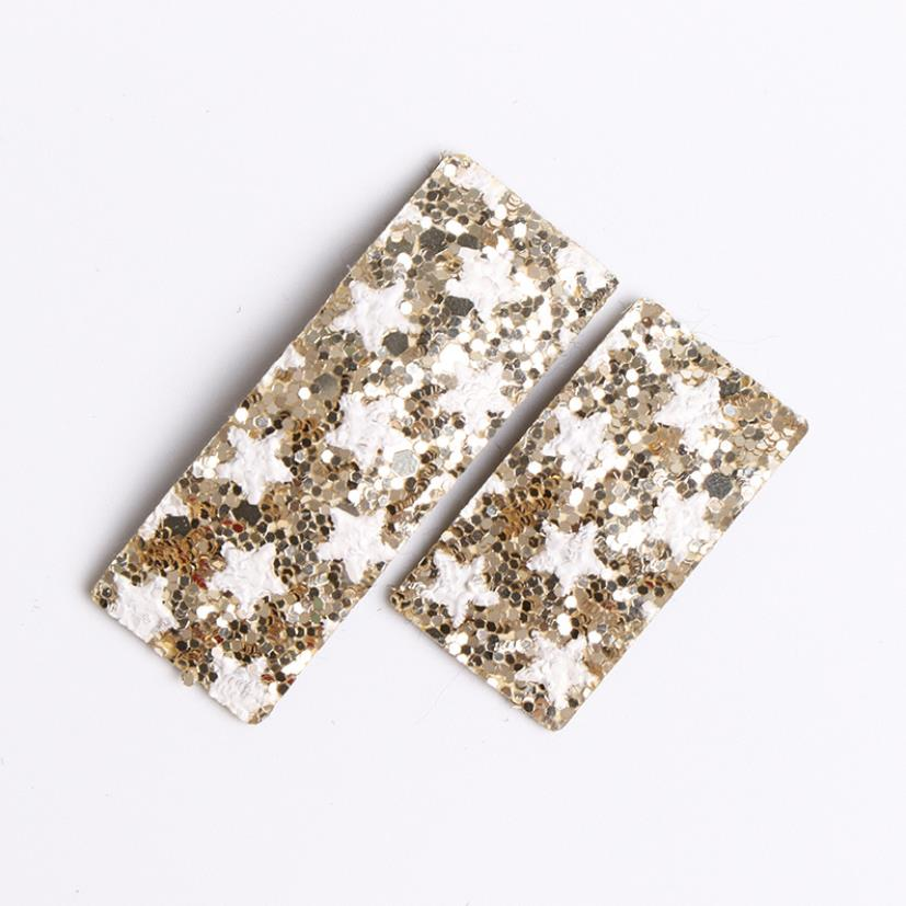 Korea Handmade Parent child Sparkly Glittering Lovely Hair Accessories For Girls Hair Clip Colorful Hairpin Hair PU Hairgrips in Hair Accessories from Mother Kids