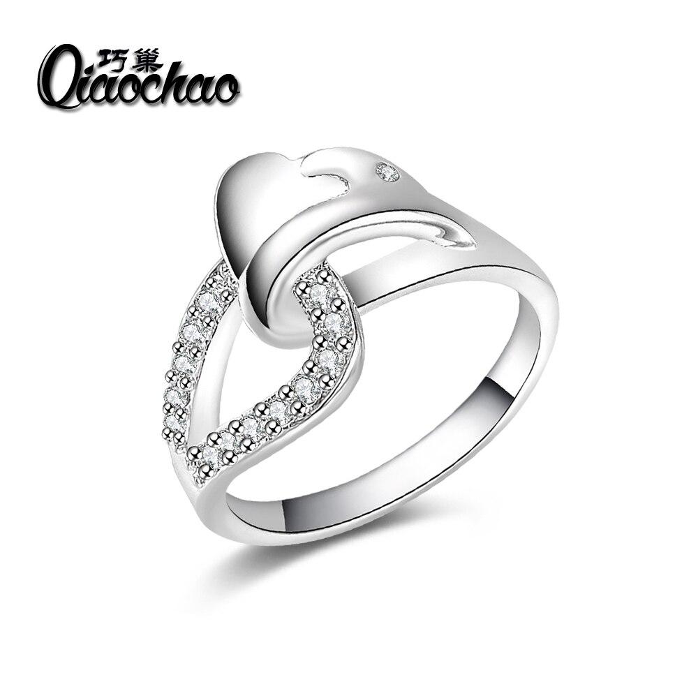 aa6ed42d27af 2017 venta Caliente regalo Navidad Al Por Mayor de plata chapado en anillo  de la joyería de la manera
