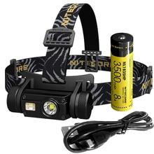トップ販売送料無料nitecore HC65 18650充電式バッテリーのヘッドランプ1000LM cree U2 ledヘッドライト防水キャンプ旅行