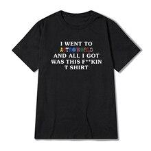 Scott Travis Astroworld WISH YOU WERE HERE T shirt Mens and Womens Hip hop streetwear Cotton