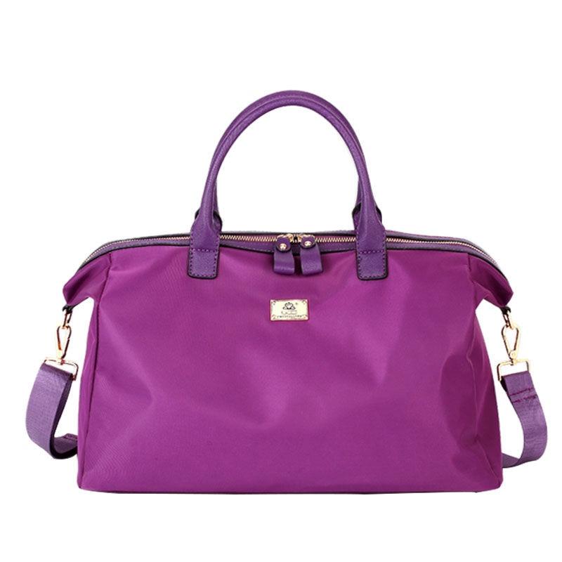 Women's Travel Bags Yoga Gym Bag for Fitness Handbags Tote Waterproof Shoulder Oxford Crossbody Pouch Women Sac De Sport XA362WA
