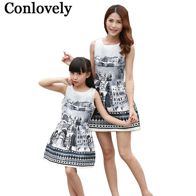 Family Matching Outfits Wedding Birthday Party Dresses Mother Daughter  Clothing Mom and Me Dress Girls Princess. placeholder ... eb80b6980105