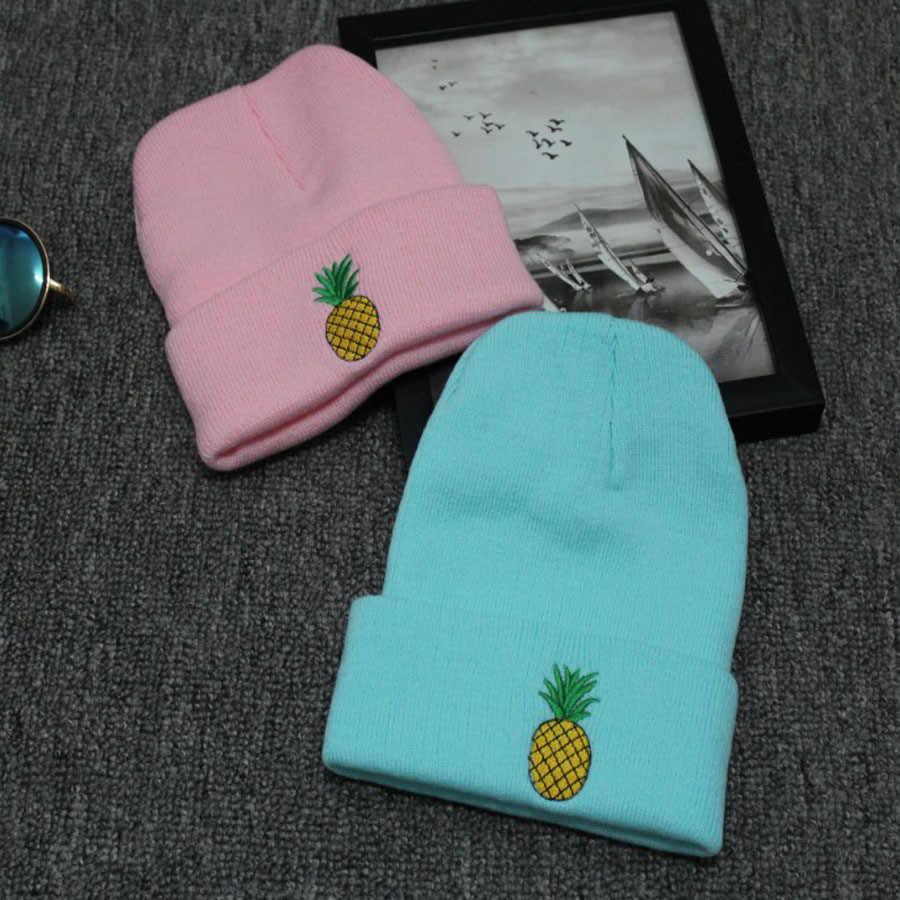 נשים חורף כובע נשים ילדה רקום באזיקי גרב טיולי כובע כפה חם לסרוג כובע Gorras Casquette mujer femme Touca inverno