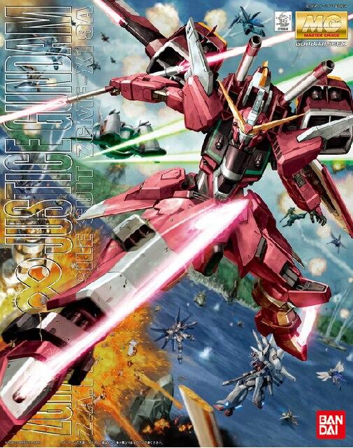 BANDAI 1/100 MG red Infinite Justice Gundam model