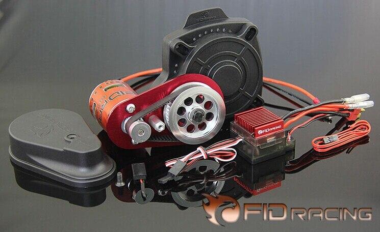 Nouveauté!!! démarreur électrique à télécommande FID avec nouveau moteur pour Losi 5ive, compatible baja 5b, 5 t, ss avec livraison gratuite.