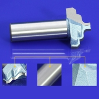 HQ 1pcs 12 7mm Shank Blade Width 3D Lace Woodworking CNC Engraving Machine Milling Knife Wood