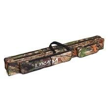 Lixada 120cm 150cm Fishing Rod Bag Multifunctional Camouflage Double Layer Outdoor Fishing Bag Fishing Tackle Bag