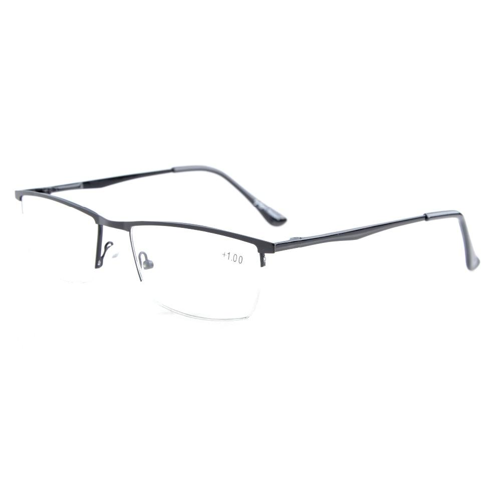 Eyekepper R1614 Qualidade Primavera Dobradiças Half-Rim Óculos de Leitura + 0.5/0.75/1.0/1.25/1.5 /1.75/2.0/2.25/2.5/2.75/3.0/3.5/4.0