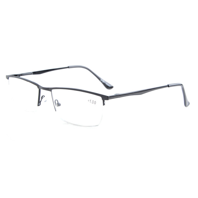 R1614 Eyekepper Quality Spring Hinges Half-Rim Reading Glasses +0.5/0.75/1.0/1.25/1.5/1.75/2.0/2.25/2.5/2.75/3.0/3.5/4.0