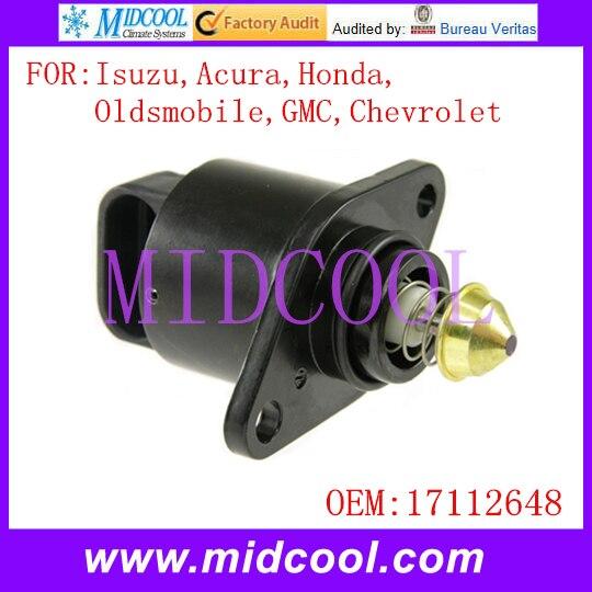 Nowe Auto prędkość obrotowa biegu jałowego zawór kontroli powietrza sprawie aktywów o obniżonej jakości wykorzystanie OE nr. 17112648 dla Isuzu Acura Oldsmobile GMC Chevrolet