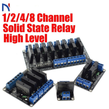 1/2/4/8 Channel Solid State Relay G3MB-202P DC-AC PCB SSR AVR DSP In 5V DC Relay Module 240V AC 2A for Arduino Diy Kit цена