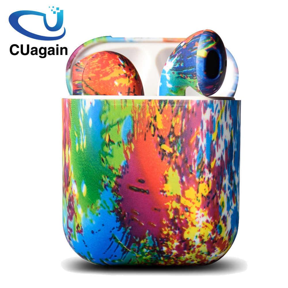 CUagain i9s tws strąki TWS bezprzewodowy mini Bluetooth douszny bezprzewodowe słuchawki z mikrofonem słuchawek słuchawki douszne do apple telefonu z systemem android