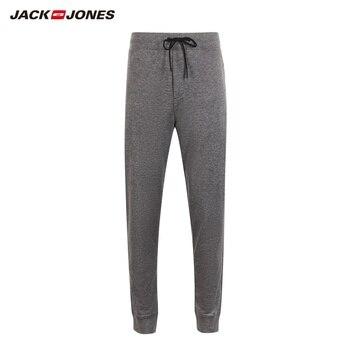 JackJones Men's Stretch Jogger Pants with Zipper Pockets Men's Slim Fit Sweatpants Men's Fitness Trousers 2019 New 219214503 6