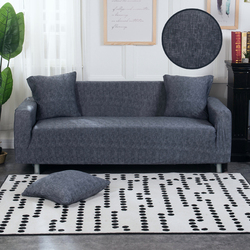 Solid Color Stretch Sofa Cover Corner Slipcovers Sectional Elastic Furniture Couch Protector Seat Case Living Room Home Decor