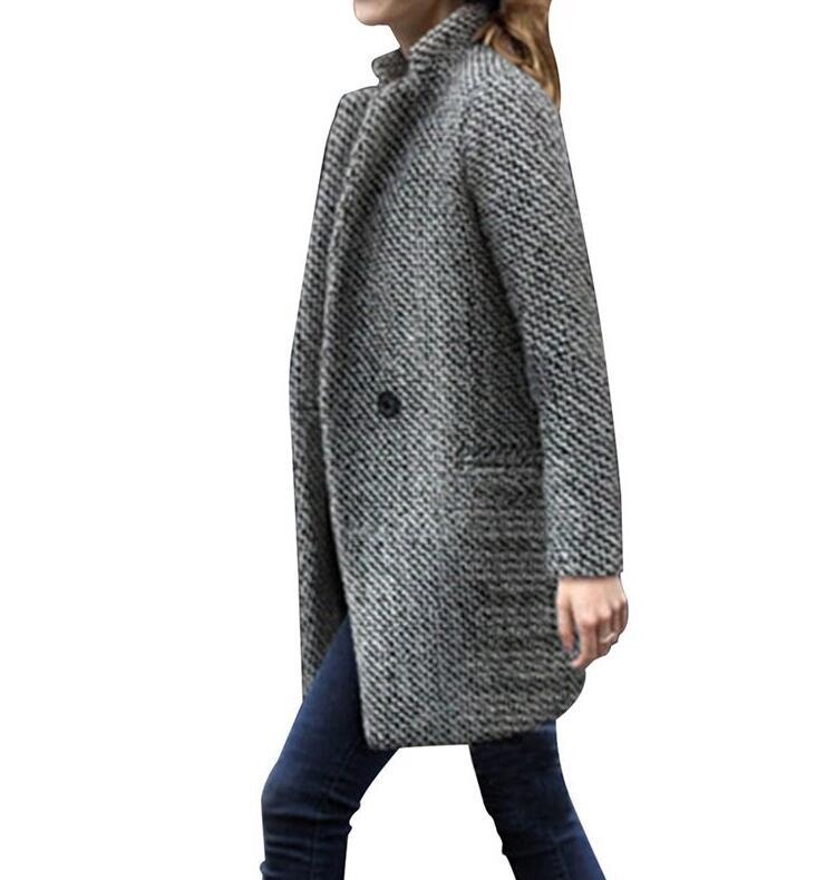 De Peluche Manteau Moelleux Épais Fausse Chaud Fourrure Manteaux D'hiver En Revers Shaggy Mode Longue 1 2018 Vestes Femmes wqp1xUBW7