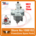 Mikuni Carburetor VM22 26mm  110cc 125cc Pit Dirt Bike ATV Quad PZ26 Performance Carburetor Part Free Shipping