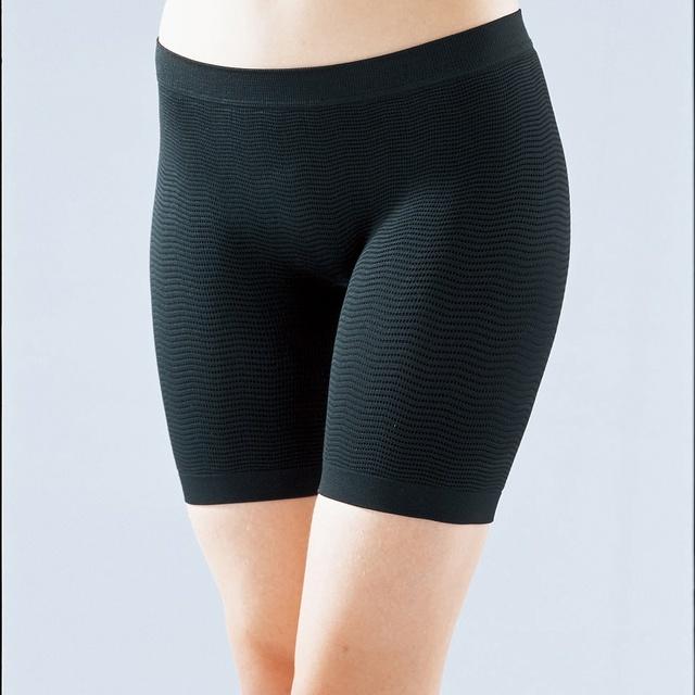 100% original do Japão Cogit Mulheres Sem Costura tecer Côncavo-convexo textura Melhor para perda de peso Celulite Pant hip pendurar fino up