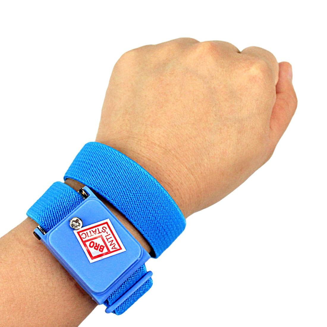 Good Esd Anti Static Cordless Wrist Strap Elastic Band For Sensitive Electronics Repair Tools Cheap Sales 50% Hand Tool Sets Tool Sets