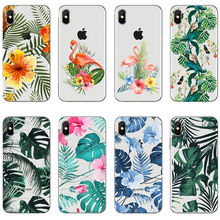 tropical rainforest Flamingo soft silicone TPU cover phone case for iPhone MAX XR XS X10 6Plus 7Plus 8Plus SE 5 5S 6 6S 7 8 ufc conor mcgregor the king soft tpu silicone cover phone case for iphone 6splus 7plus 8plus se 5 5s 6 6s 7 8 max xr xs x10