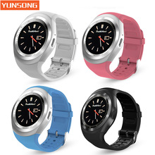YUNSONG Y1 wearable Smart Watch Support SIM TF Card With Whatsapp Facebook fitness Smartwatch For Android