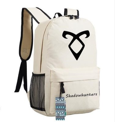 Shadowhunters Backpack For Teenager Boys Girls School Bags Backpack Women Men Casual Bag Student High School Backpack Bookbag