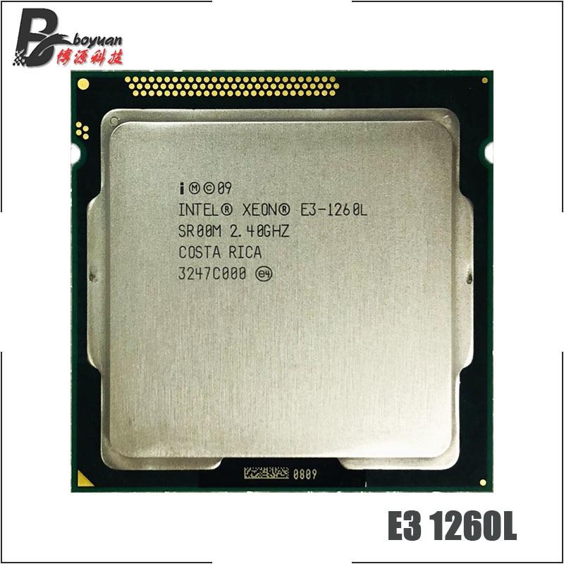 Intel Xeon E3 1260L E3 1260L E3 1260 L 2 4 GHz Quad Core Eight Core